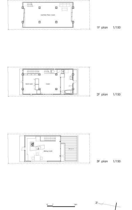 Column and Slab house by FT Architects – Slab House Floor Plans