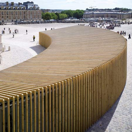 Versailles Pavilion by Explorations Architecture