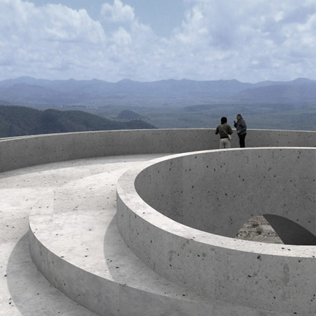 Ruta del Peregrino: Lookout Point by HHF Architects