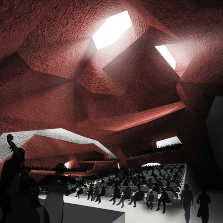 Jordanék Music Hall by Menis Arquitectos