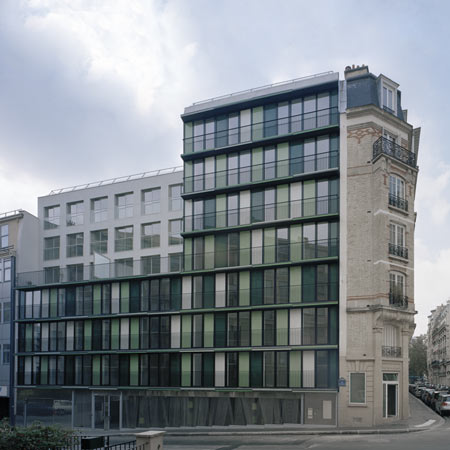Paris Social Housing by ECDM