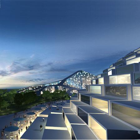 Zira Island masterplan by BIG