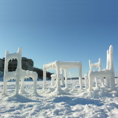 Ice And Snow Furniture By Hongtao Zhou