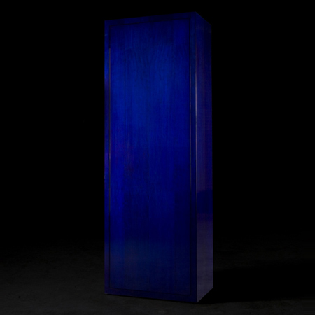 The Bic Blue Cabinet by Studio Libertiny