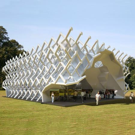 The Yorkshire Diamond Pavilion by Various Architects