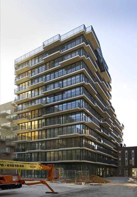 Westerdok Apartment Building By Mvrdv Dezeen