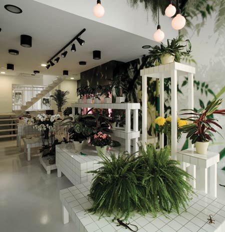 Aktipis Flowershop by Point Supreme Architects - Dezeen