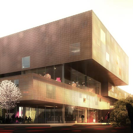 Copenhagen Culture House + Library by COBE and Transform