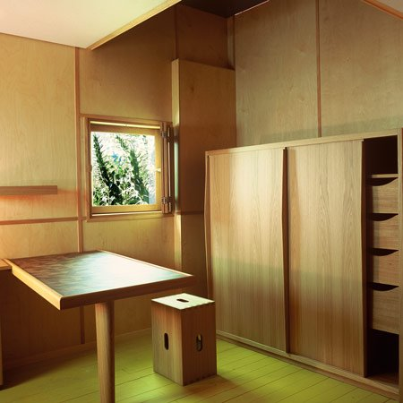 Le Corbusier's Cabanon - the interior 1:1