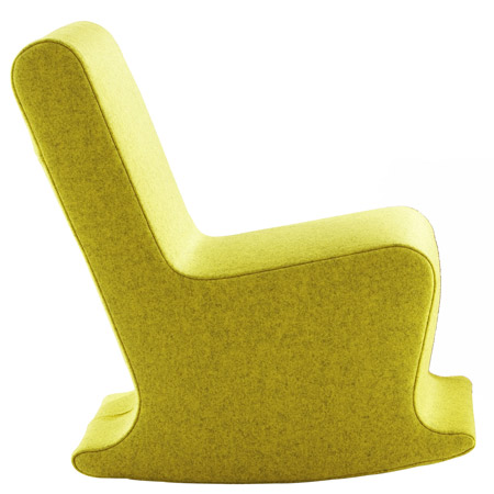 Mini Dada rocking chair by Claudio Colucci