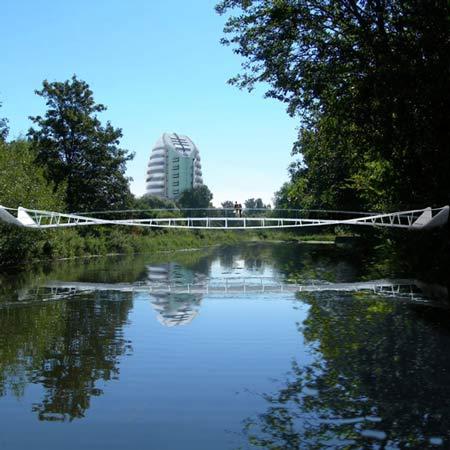 River Soar bridge by Explorations Architecture and Buro Happold