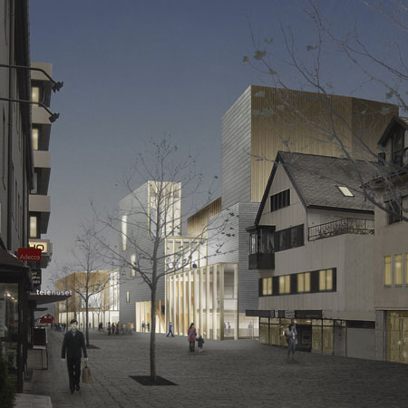 Bodø Kulturhus and Library by drdharchitects