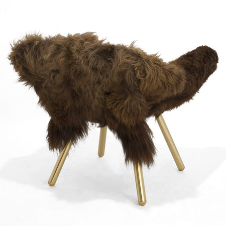 The Woolly Chair by Jason Miller