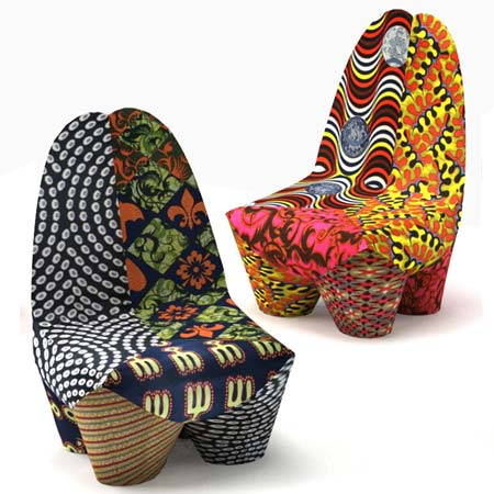 Binta armchair by Philippe Bestenheider for Moroso