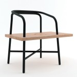 Table, Bench, Chair by Sam Hecht