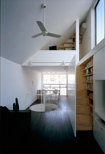 augenpralinen kreativ und individuell wohnen und einrichten long tall house mit versteckter. Black Bedroom Furniture Sets. Home Design Ideas