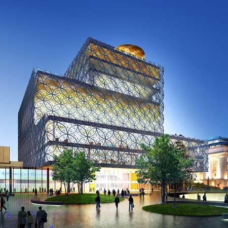 Библиотека Бирмингема от Mecanoo Architecten