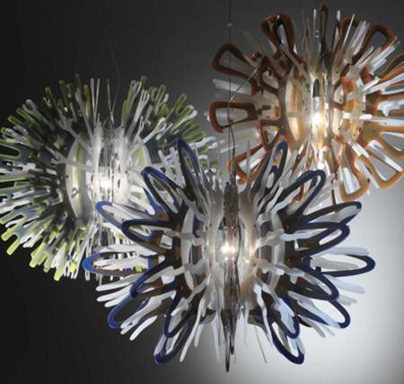 Creatures, Corona and Pacis by Nigel Coates for Slamp