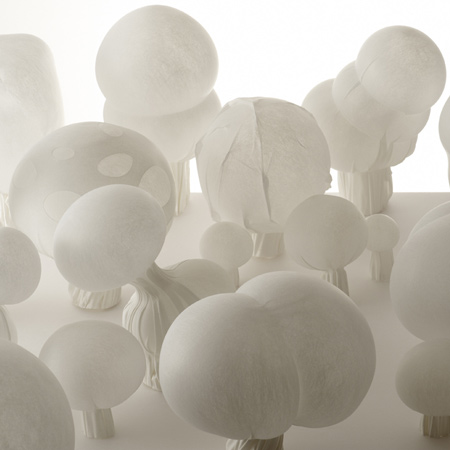Blown Fabric by Nendo