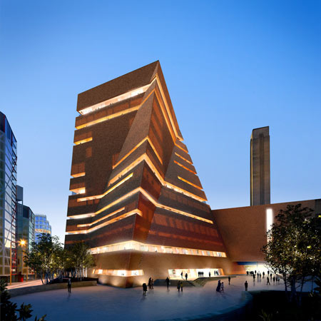Tate Modern extension by Herzog & de Meuron