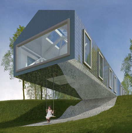 Balancing Barn by MVRDV and Mole Architects