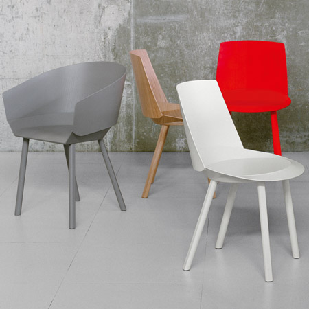 Houdini Chair by Stefan Diez for e15