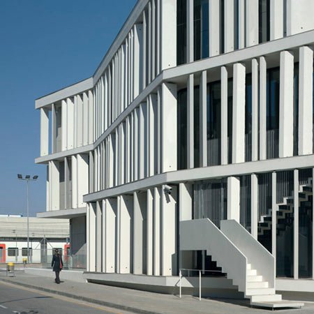 Court of Sant Boi de Llobregat by BAAS Architects