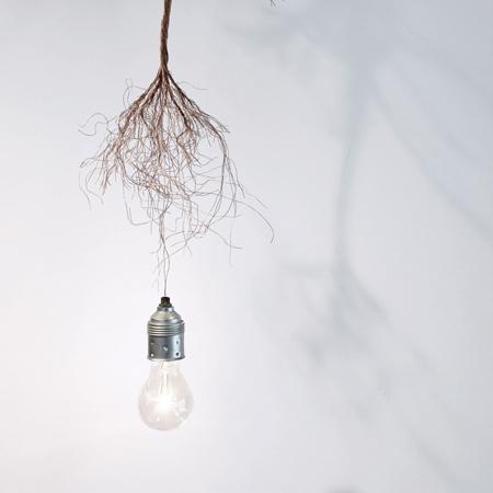 Vanitas lamp by Charlotte Dumoncel d'Argence