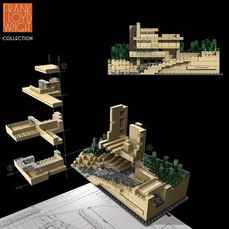 Frank Lloyd Wright Collection by AdamReed Tucker and The LEGO Group