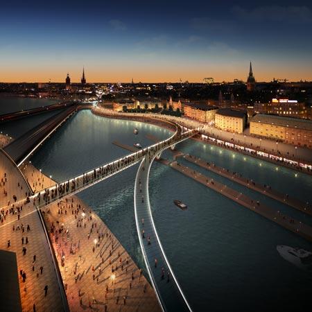 Slussen Masterplan, Stockholm by Foster + Partners