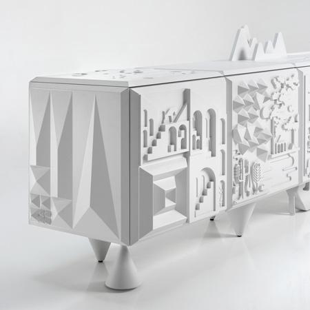 Tout Va Bien cabinet by Antoine Audiau and Manuel Warosz