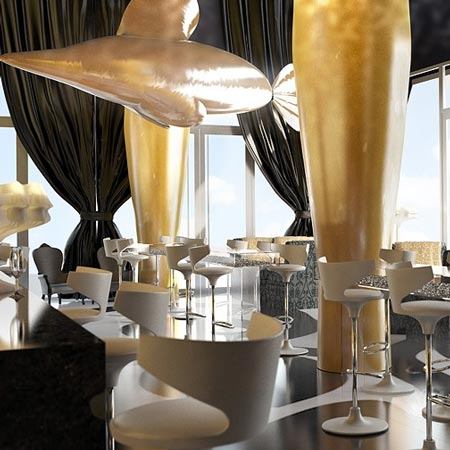Kameha Grand Bonn interiors by Marcel Wanders
