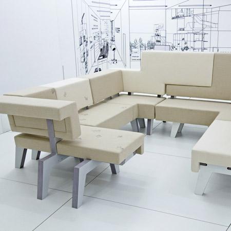 Work Sofa by Studio Makkink & Bey