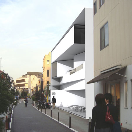 Harajuku Box House by Daniel Statham Architects