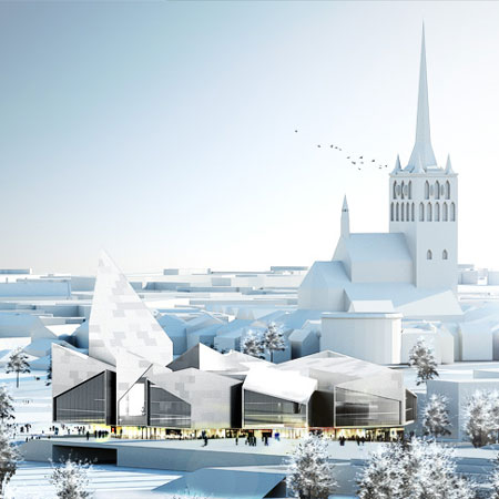 Tallinn City Hall by Bjarke Ingels Group
