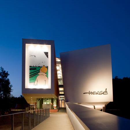 Musée Hergé by Atelier Christian de Portzamparc