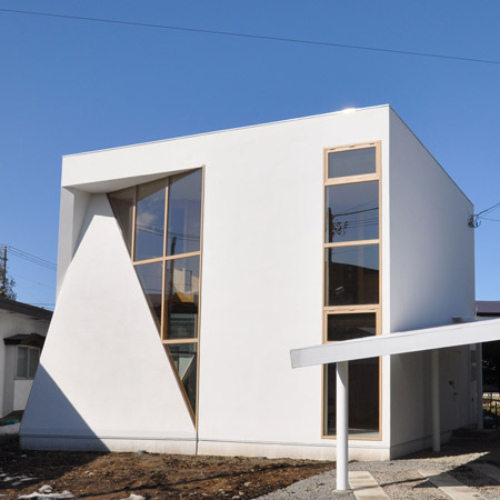 Mizoe House by Takashi Seisho and Akinari Tanaka