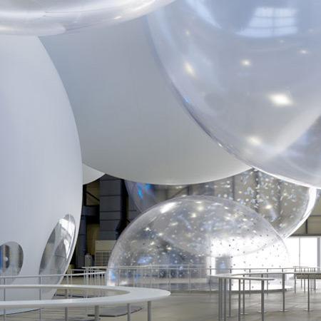Nissan Y150 Dream Front, павильон Torafu Architects