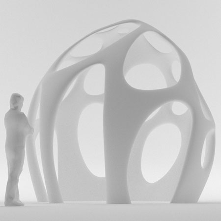 Radiolaria pavilion by Shiro Studio