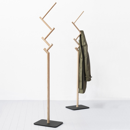 Twig Coat Stand by Jamie McLellan