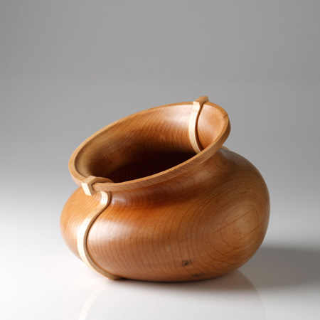 Wood Vases by Paul Loebach