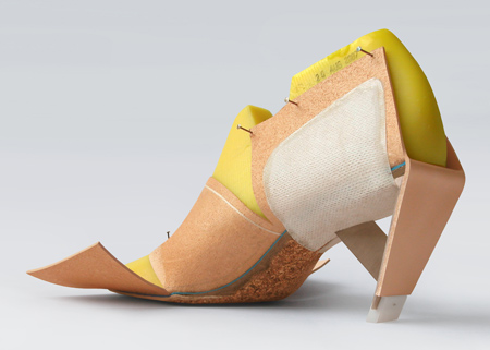 Бежевая обувь от Marloes ten Bhömer