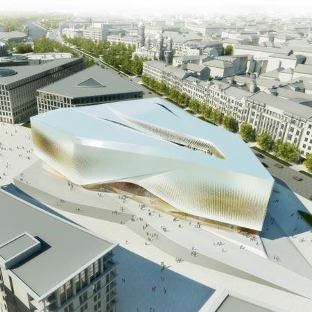 Dance palace by unstudio dezeen for Un studio architecture