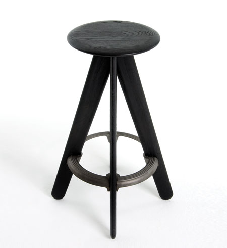 Industrial Bar Stools With Wheels Unfinished Pine