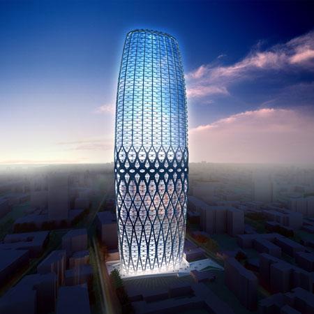Dorobanti Tower by Zaha Hadid Architects