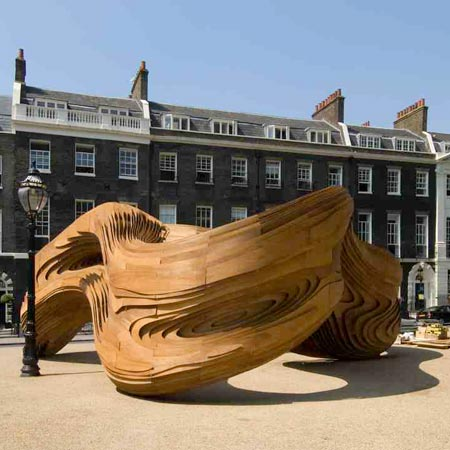 Driftwood pavilion by AA Unit 2 opens
