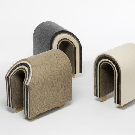 Ewe stools by Yu-Hun Kim