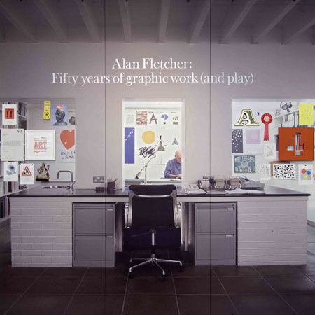 Dezeen Podcast: Colin Forbes remembering Alan Fletcher at the Design Museum