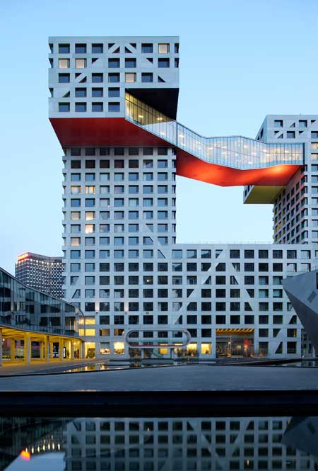 Linked hybrid by steven holl architects dezeen for Architecture hybride
