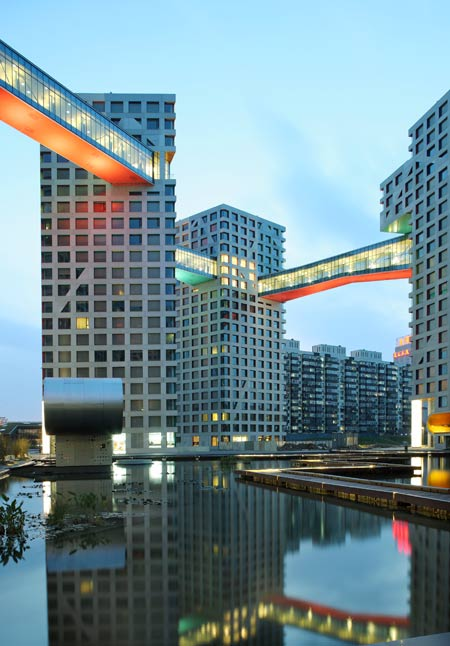 Linked Hybrid By Steven Holl Architects Dezeen